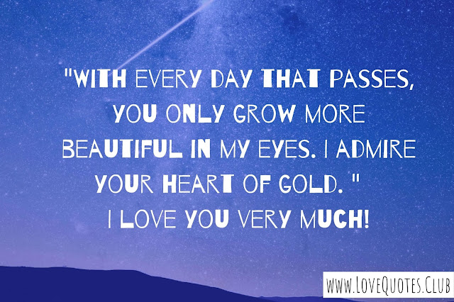 I love you baby quotes for him