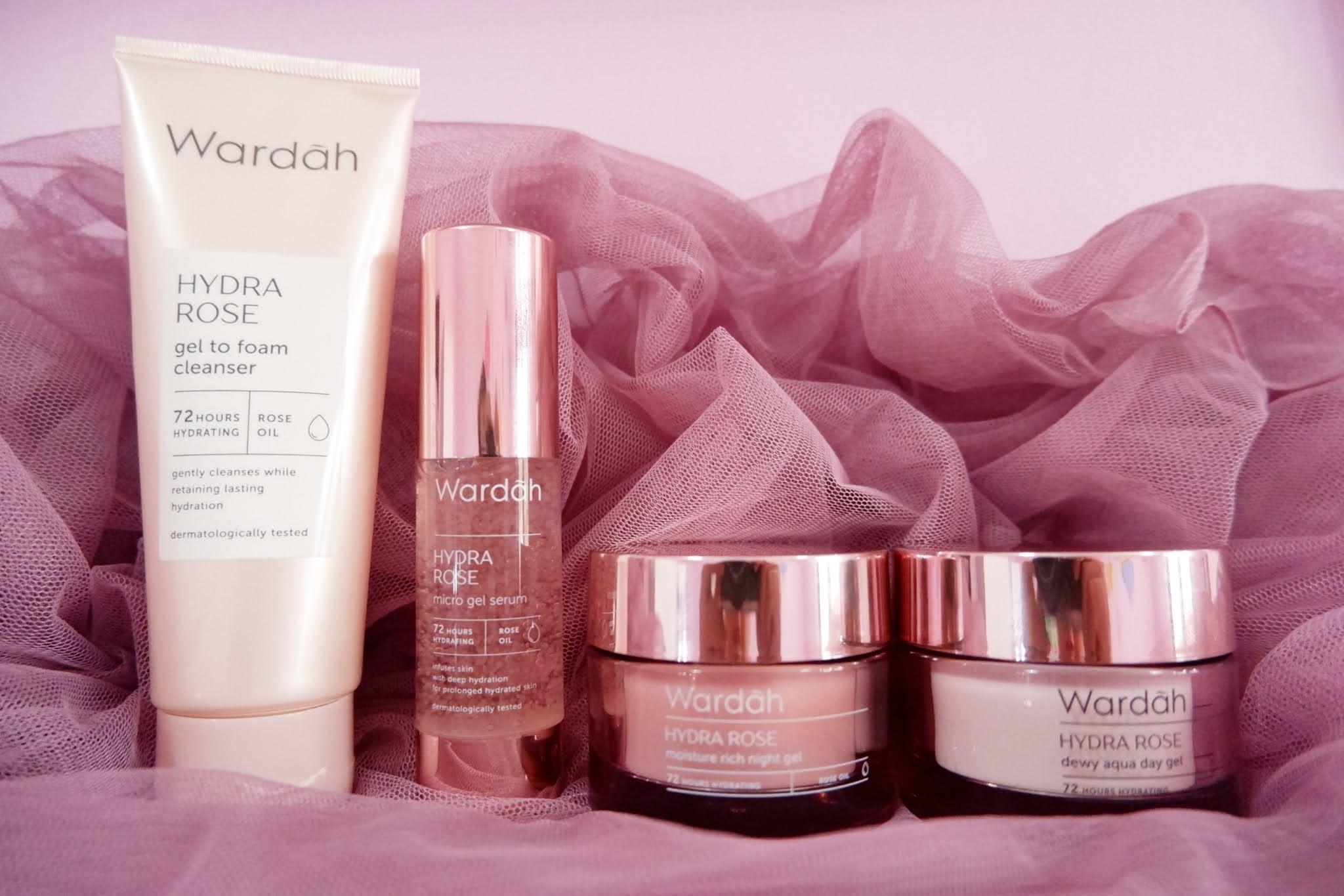 Review Wardah Hydra Rose Regime Skincare Untuk Kulit Kering Dan Dehidrasi Lisna Dwi A Working Mom Lifestyle
