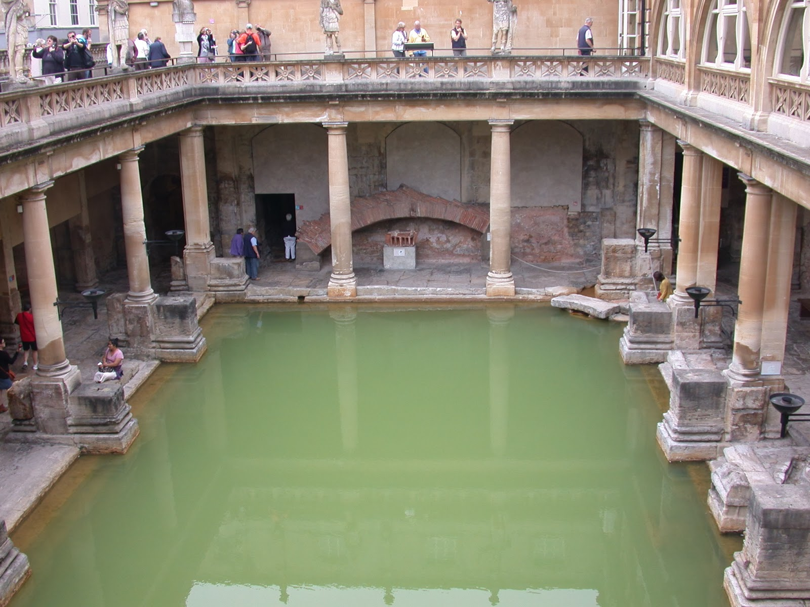 Andrew Simpson: When in Bath, visit the Roman Baths, I did and so ...