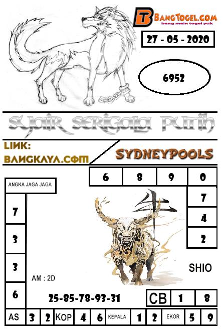 Prediksi Syair Sydney 27 Mei 2020