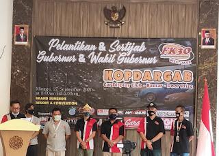 Mobilio Nusantara (MOST) Turut Menghadiri Kopdargab (Car Display club & Bazaar), Pelantikan & Sertijab Gubernur & Wakil Gubernur FK3O West Java