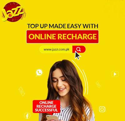 Jazz online recharge - How to recharge jazz Balance online