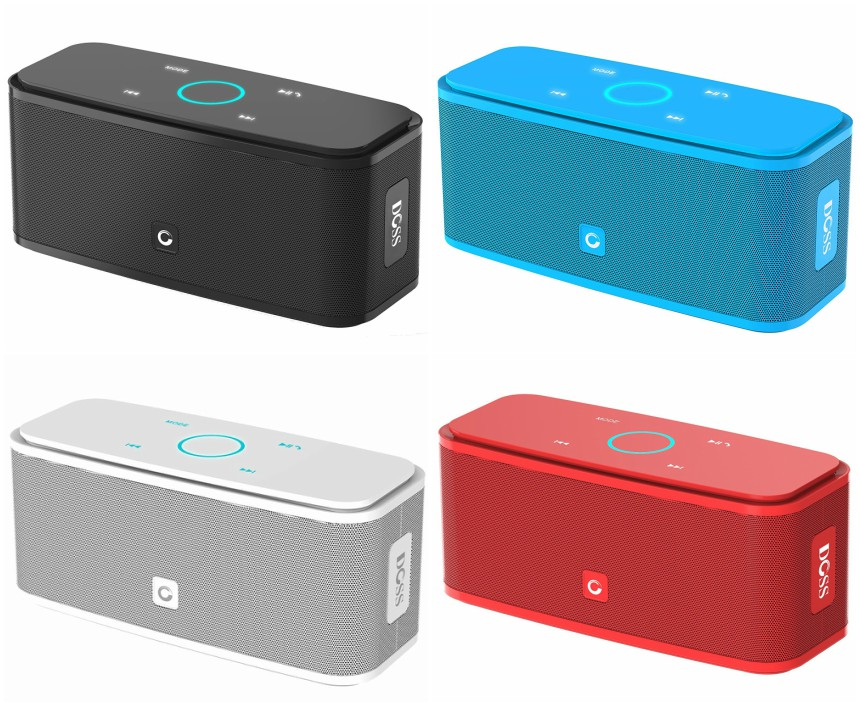 Amazon: DOSS Bluetooth Speaker only $24 (reg $90)!