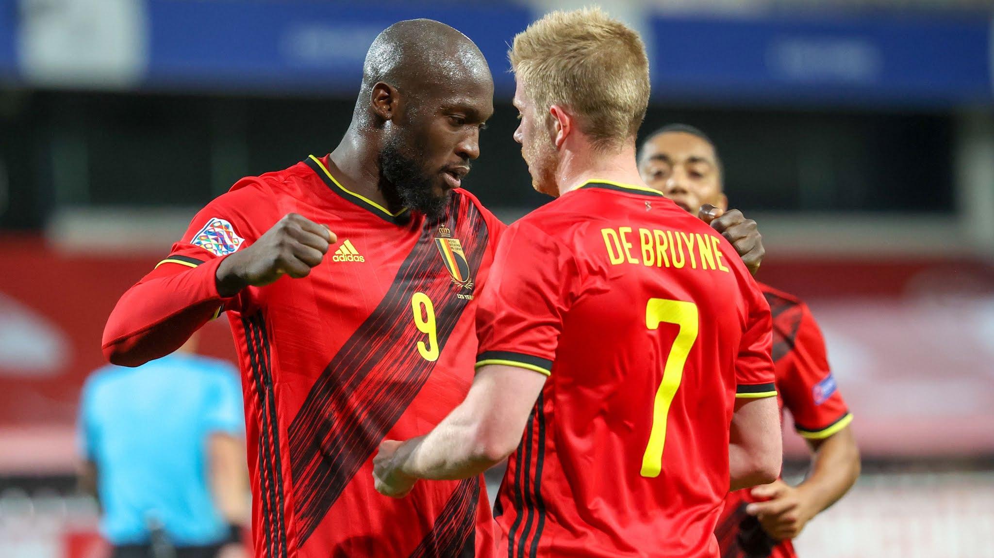 Belgium's spearhead Romelu Lukaku continues playing at an incredible level