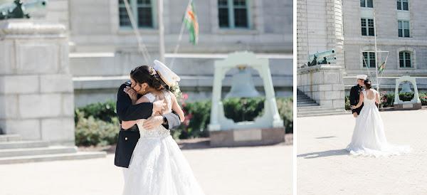 Annapolis Yacht Club Wedding photographed by Heather Ryan Photography
