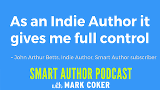 "image reads:  ""As an Indie Author it gives me full control"""