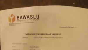 Gabung Dibarisan AL Haris Team AL haris, Tenaga Ahli HBA Laporkan Bawaslu