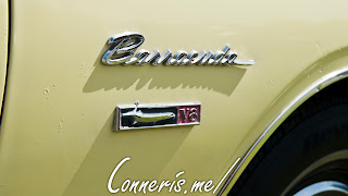 1968 Plymouth Barracuda Side Badge