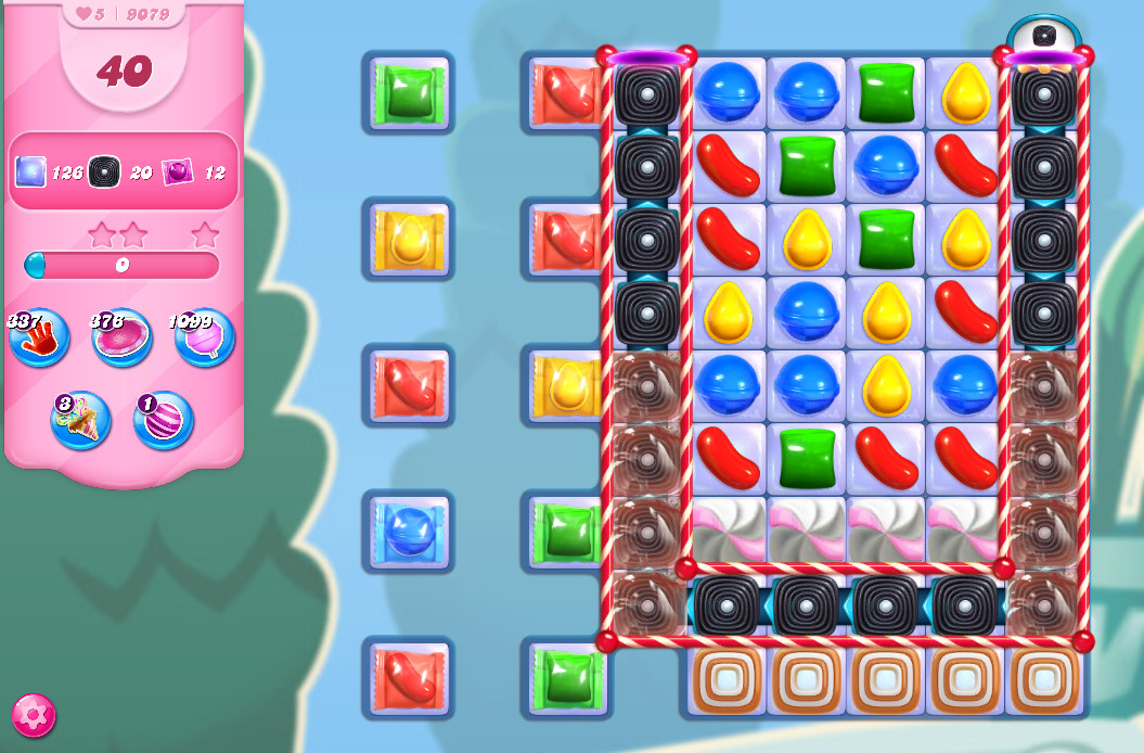 Candy Crush Saga level 9079
