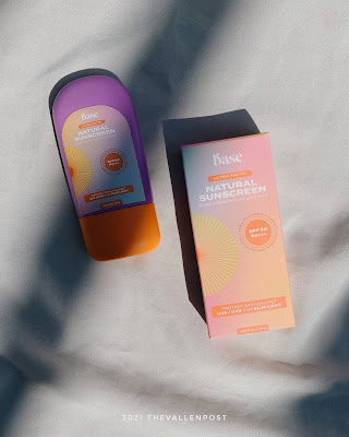 review sunscreen base
