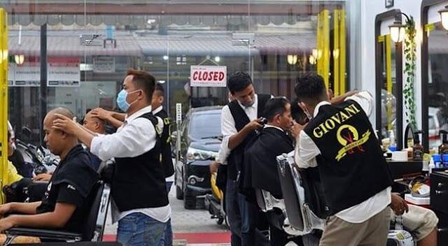 Sistem Franchise Barbershop GIOVANI