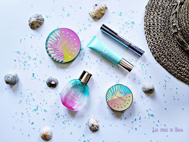 Frozen Summer Collection colección verano maquillaje Clarins makeup eyeshadows beauty bronzer lips