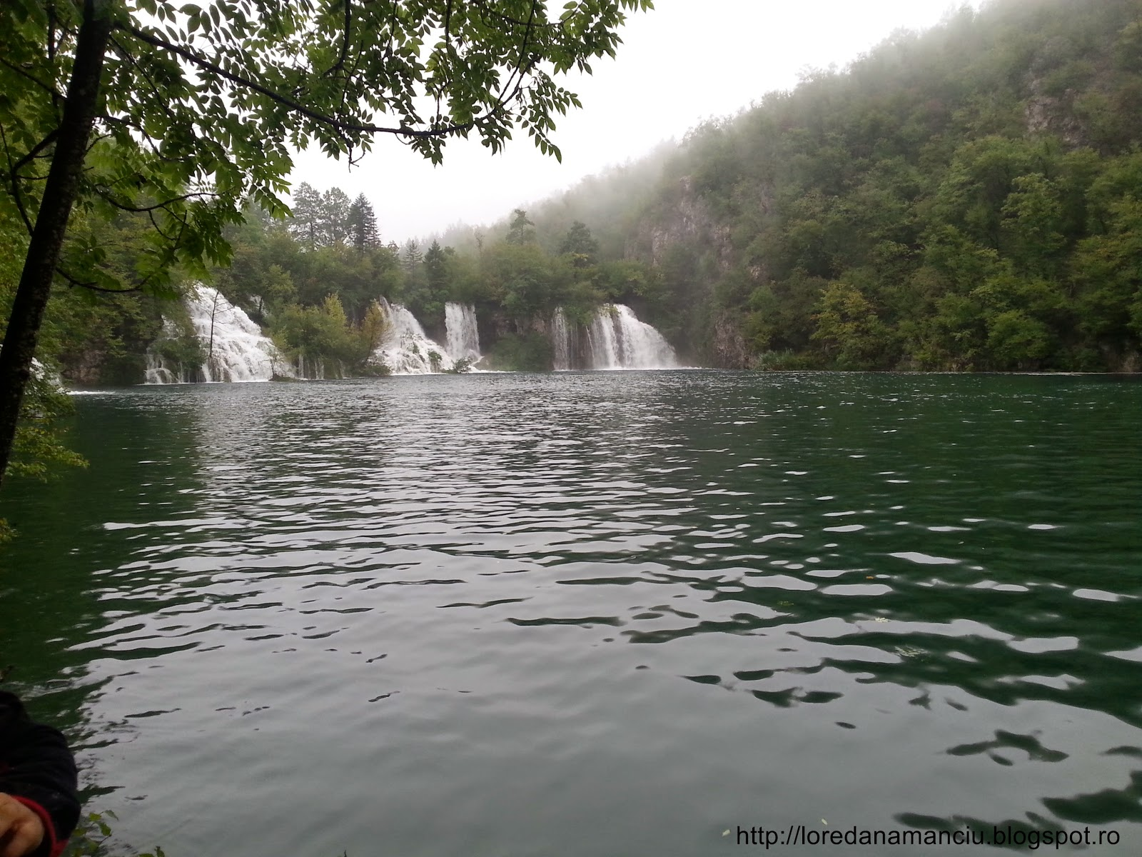 Amazing natural park Plitvice waterfalls