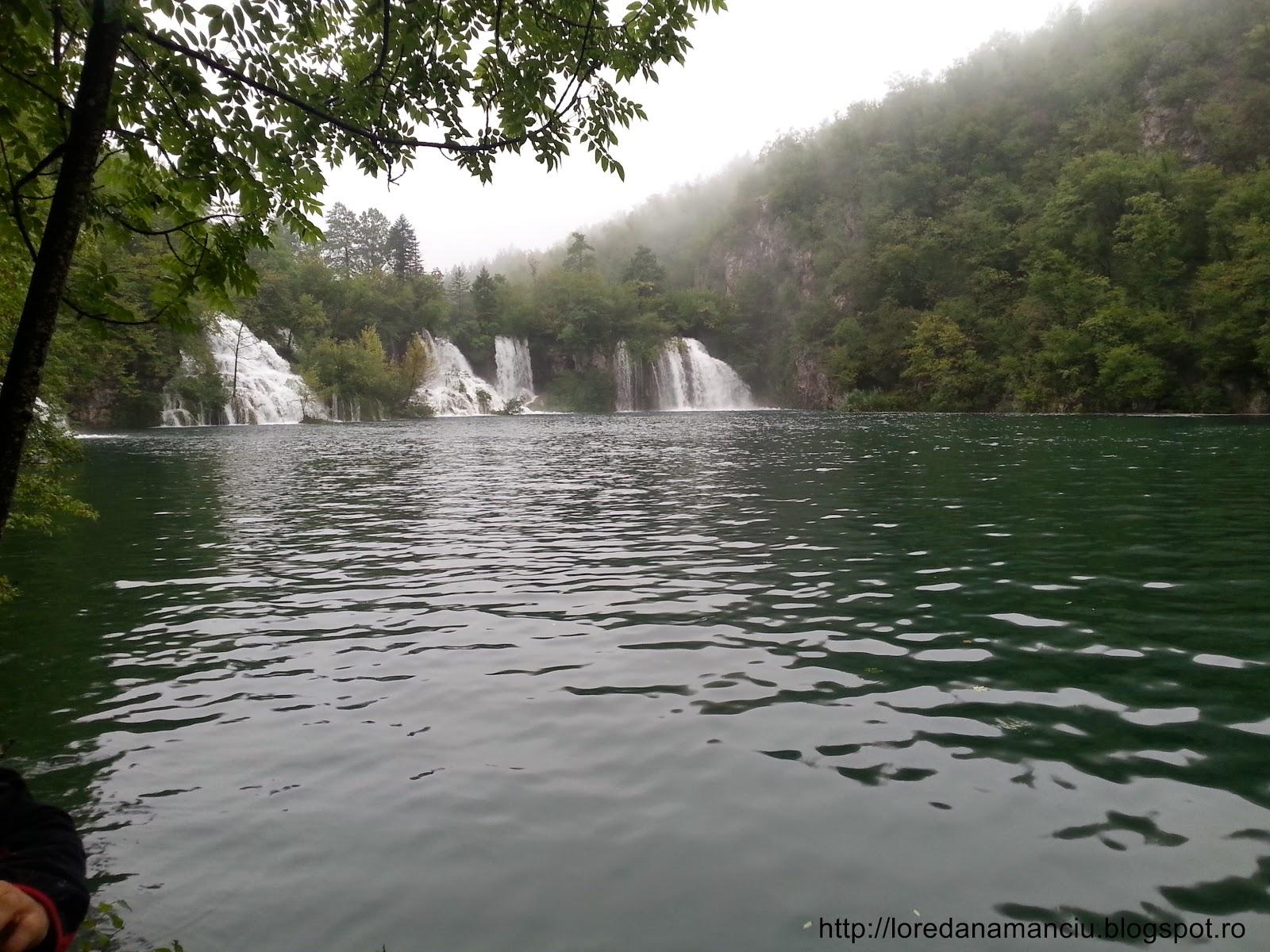 Amazing natural park Plitvice waterfalls