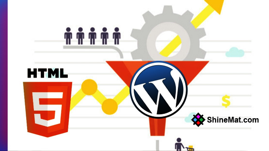 Why Should You Convert HTML Site To WordPress | Shinemat.com