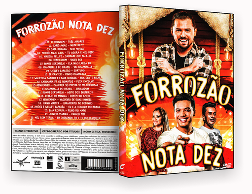 CAPA DVD – Forrozão Nota Dez DVD-R