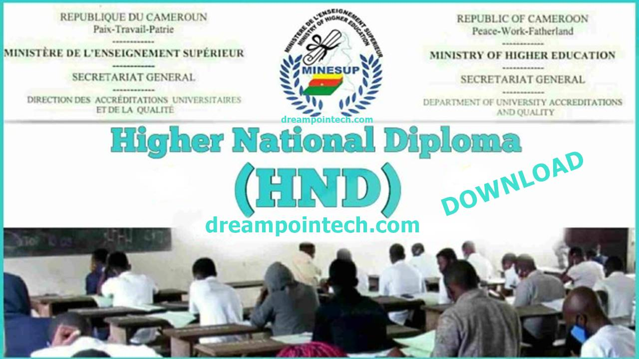 Download Free Cameroon HND Results PDF