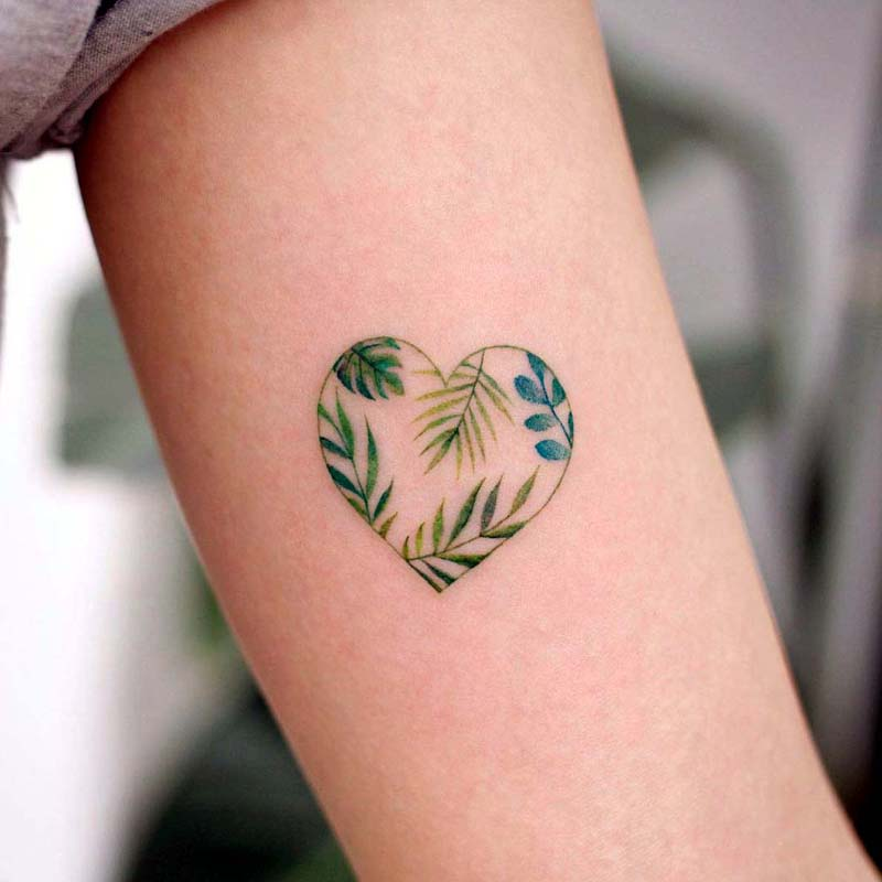 Tiny Floral Tattoos