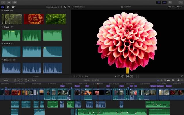 تحميل برنامج Final Cut Pro X مجاناً لنظام التشغيل ماك MacOS