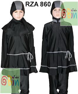 baju renang muslim anak syari RZA 860
