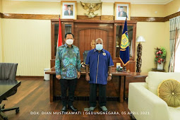 Lukas Enembe Minta Tito Karnavian Dukung dan Sukseskan PON XX 2021