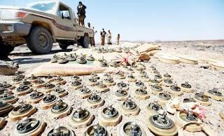 Tentara Yaman Bersihkan Ranjau Milik Syiah Houthi di Saada