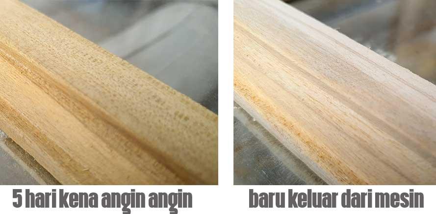 warna kayu manglid