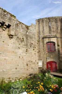 La Torre del Governatore nella Ville Close di Concarneau