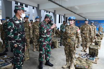 Satgas BGC TNI Konga XXXIX-C/MONUSCO Dinyatakan Siap Operasi