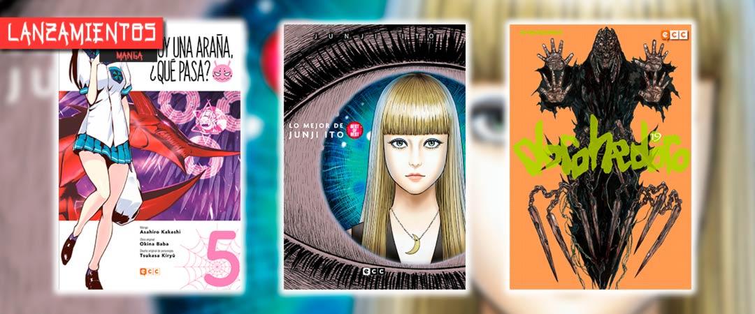 Novedades ECC Ediciones mayo 2021 - manga