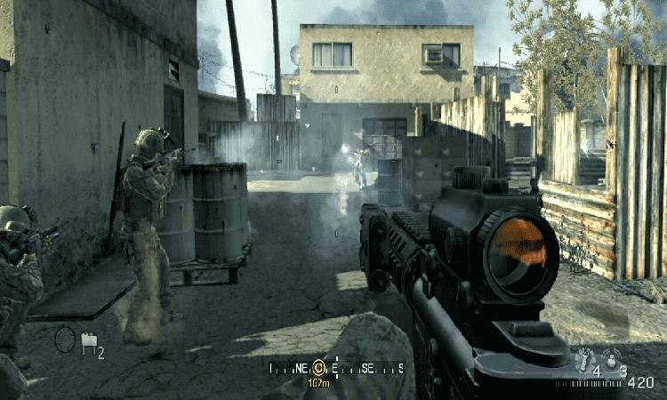 تحميل لعبة Call of Duty 4 الجديدة
