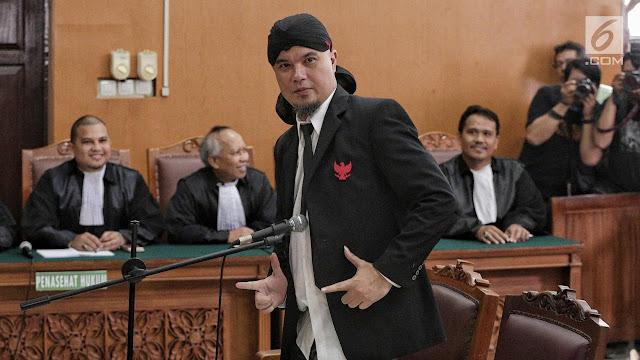 Agar Tak Bicara Politik, Ahmad Dhani Satu Sel dengan Tahanan Kasus Selingkuh