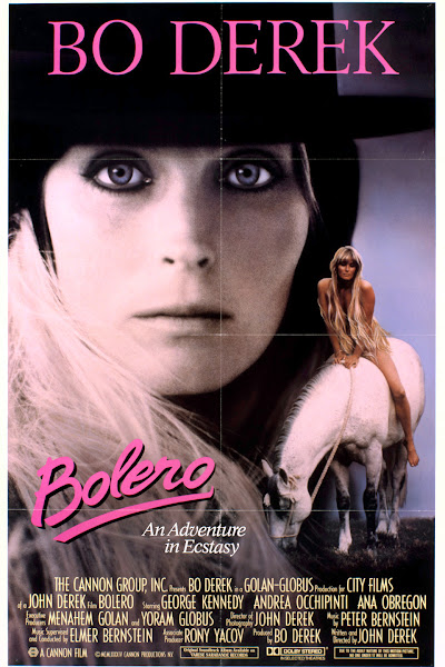 Poster of Bolero 1984 UnRated 720p Hindi BRRip Dual Audio Full Movie Download