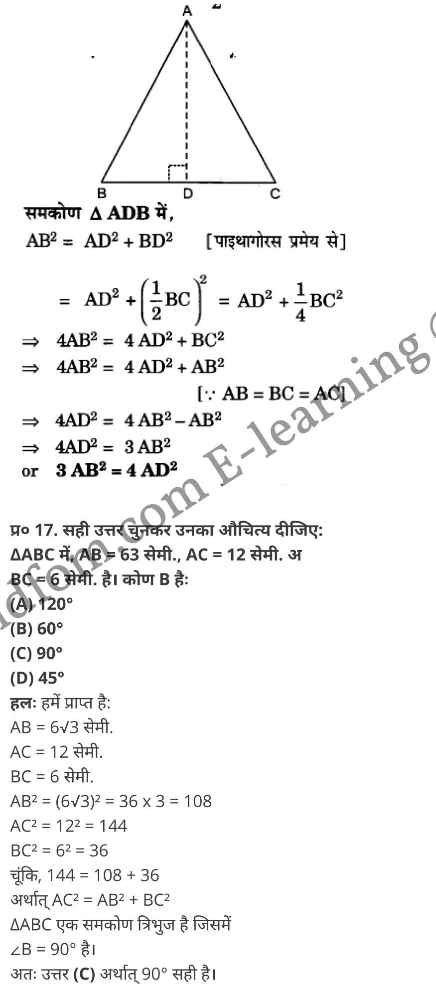 class 10 maths chapter 6 hindi medium 58