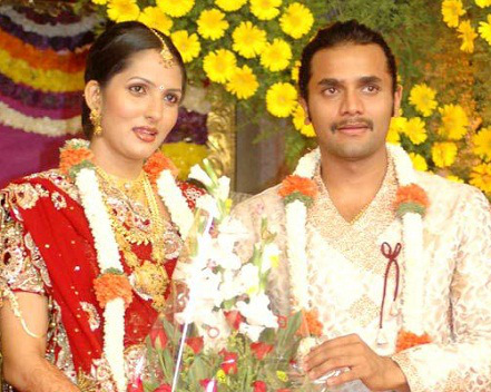 Sriimurali  at his wedding