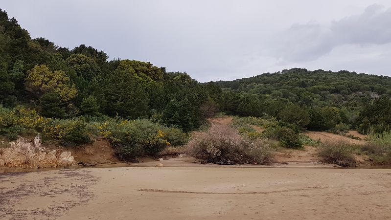 Ochsenaugenbucht auf dem Peloponnes April 2019