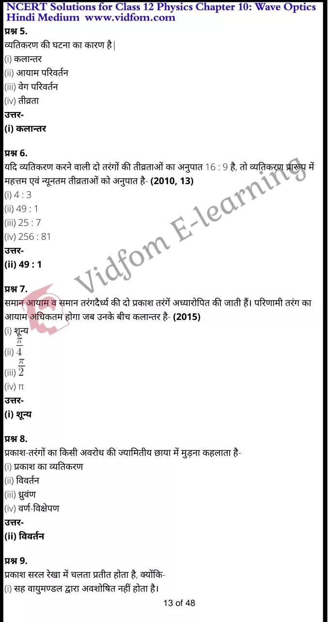 class 12 physics chapter 10 light hindi medium 13