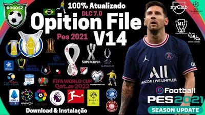 PES 2021 PC Option File V14 Season 2021/2022 by Gogosz