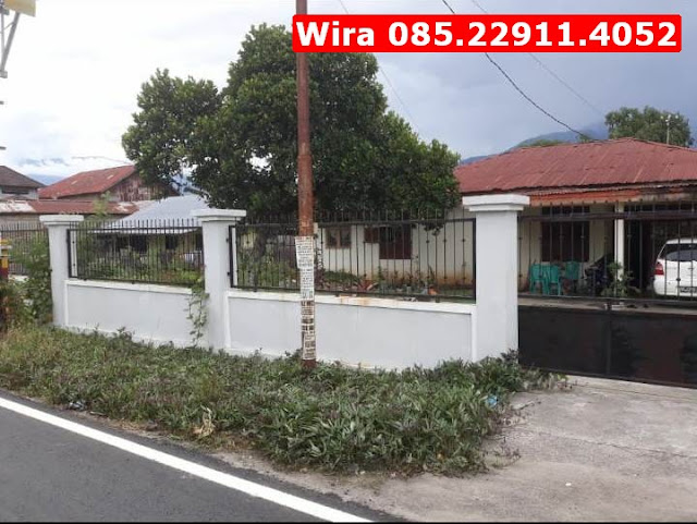 Tanah Kosong Luas & Rumah di Kota Palu,  Akses Jalan Mudah, Lokasi Strategis, Wira 085.22911.4052