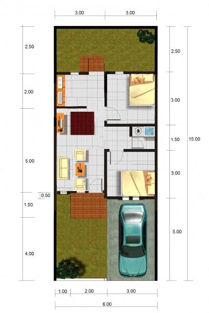 contoh desain gambar rumah minimalis type 45 dangstars