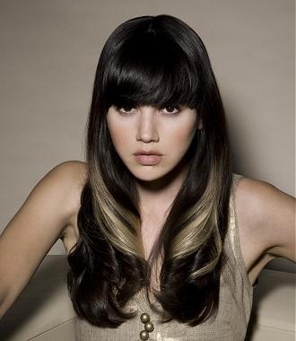 Fantastic Platinum Blonde Highlights On Black Hair Pictures Short Hair Short Hairstyles For Black Women Fulllsitofus