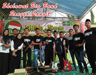 www.biliklagu.tk | Roqqot Aina Cover Songgo Langit Sholawat Big Band SMK Ma'arif NU Mantup