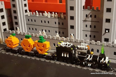 Creative Crew LEGO Halloween Ghost Train LDC Manchester