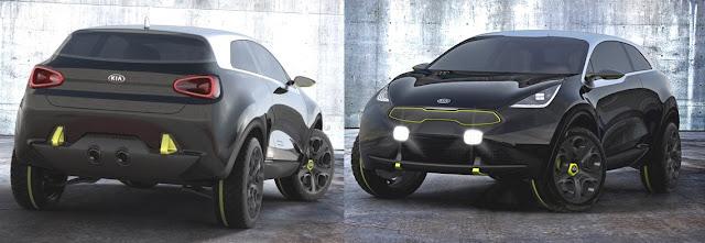 KIA Niro Concept, Front and Rear