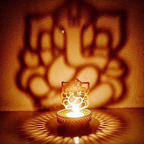 Lord Ganesha Candle Holder diwali gift