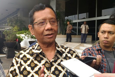 Mahfud tak 'Ingin' Masuk Bursa Cawapres - Info Presiden Jokowi Dan Pemerintah