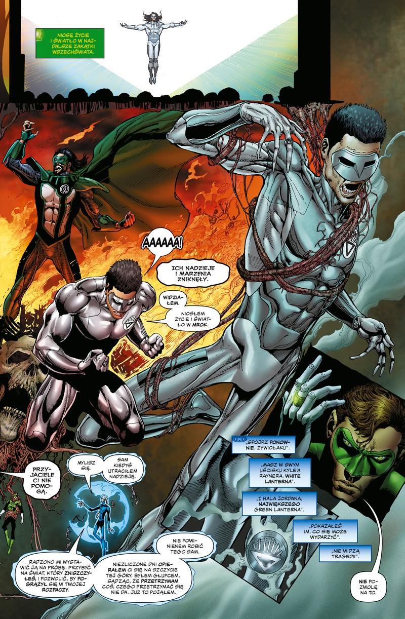 Hal Jordan i Korpus Zielonych Latarni tom 3: Poszukiwanie nadziei przykładowa strona