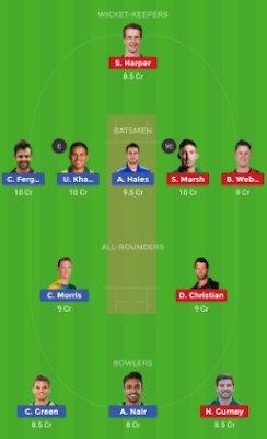 REN vs THU dream 11 team | THU vs REN