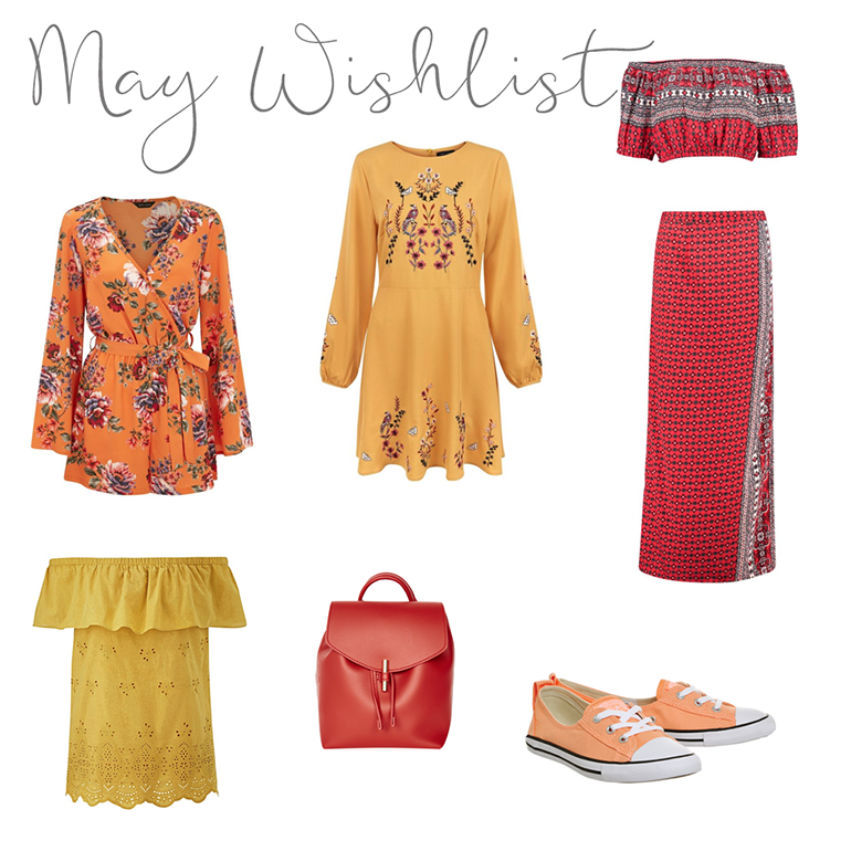 May Wishlist