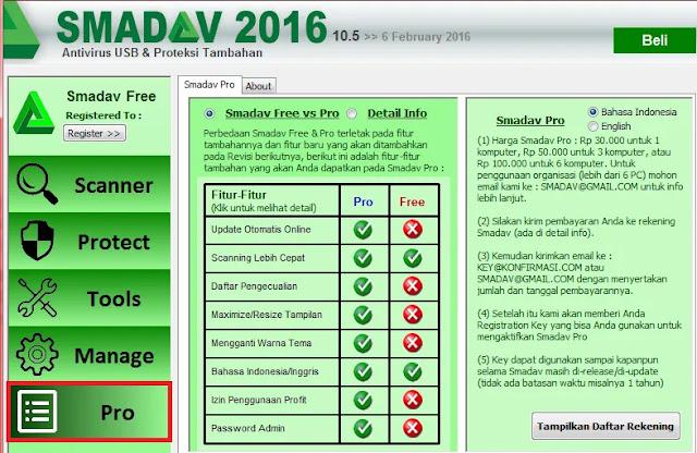 Cara Aktivasi Smadav Free Anti Virus Terbaru 2020